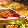 Repas sous forme de buffet